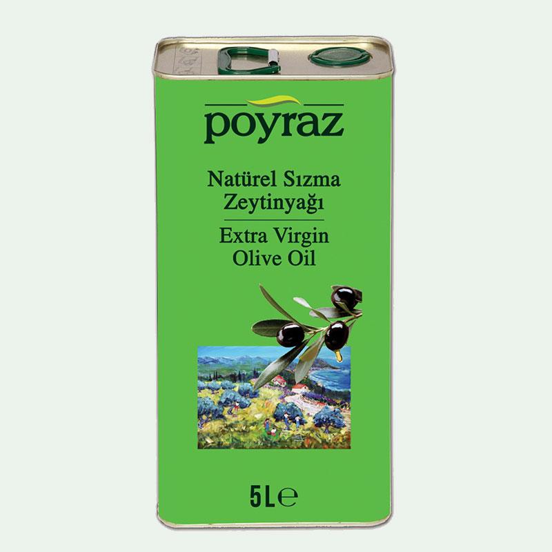 Poyraz Zeytinyağı 5 LT