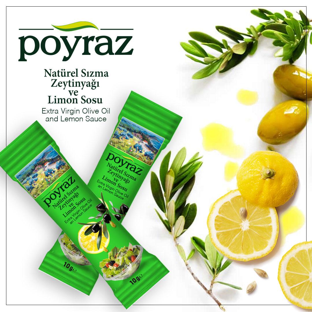 Zeytinyağı ve Limon Sosu
